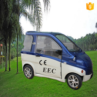 Hot Sale l6e EEC Certificate approved 2-seat Smart Electric Car
