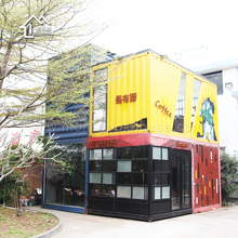 The 20ft prefabricated mobile shipping container coffee shop