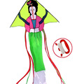 Chinese Best Selling Woman Kites with Flying Line For Kids