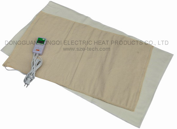 Digital Moist Heating Pad Large 12X23.6inch with auto off, Great For Shoulder or Back