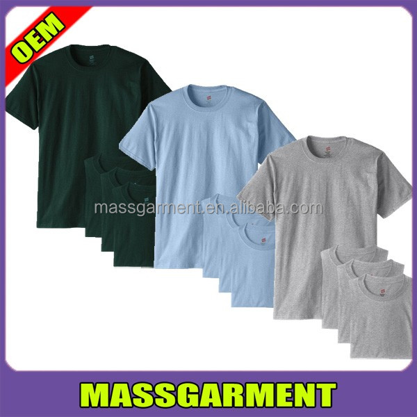 MS-1741 OEM T shirt Custom 20S/1 180 GSM 100% Preshrunk Ringspun Cotton Blank T Shirt Factory