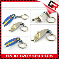 Silver plated 3d promotion item key chains