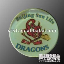 Chinese zodiac Dragon Mascot Badge
