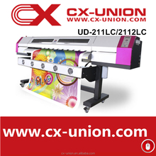 Inkjet digital printer UD2112LC eco solvent plotter for vinyl sticker printing machine