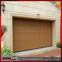 Overhead Garage Door Panel With 40mm Thickness/cheap sectional automatic garage doors