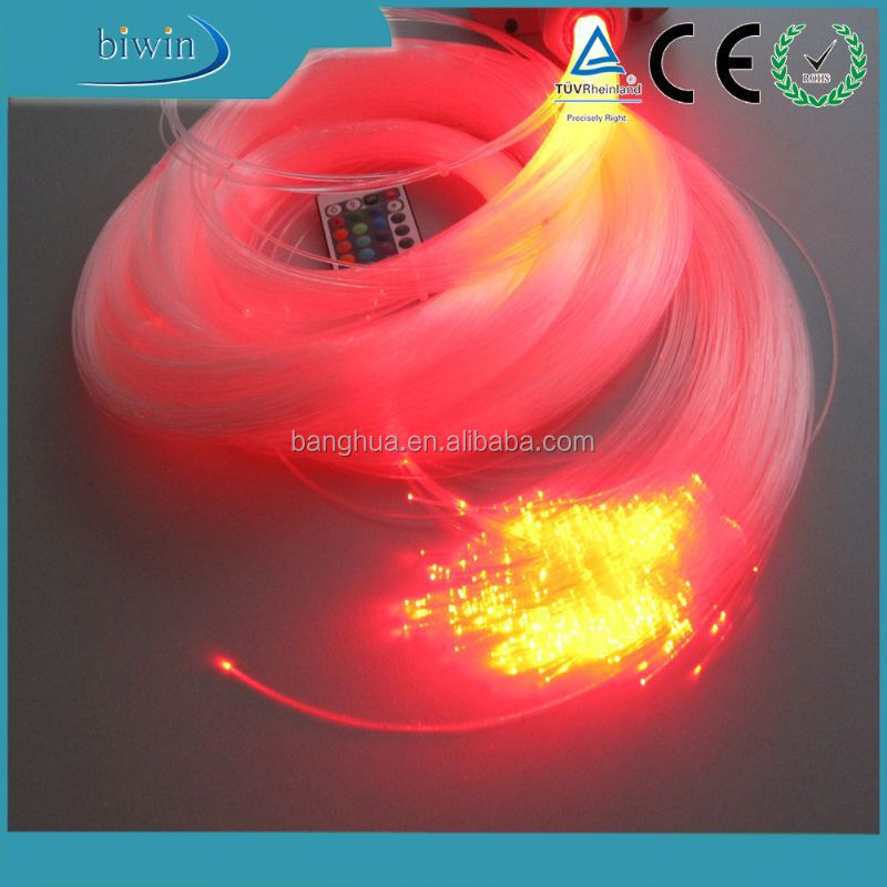 Plastic fiber optic ceiling star lighting decoration