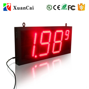 RC&PC Computer controlled,Operated easily,15inch led gas station price sign board/displays