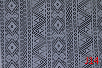 100% Polyester Chemical African Lace Fabric China Supplier