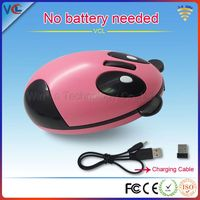 2.4G rechargeable animal modlel cute designer wireless mouse for laptops
