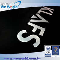 Strong self adhesive backing aluminum cheap metal letters