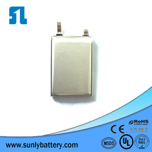 UL Certificated Bluetooth Battery 601230 170mAh 3.7v from Sunly Group
