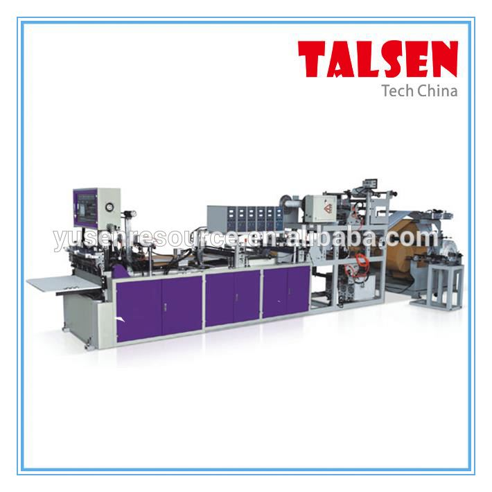 Talsen Brand Hydraulic press non woven bag handle punching machine