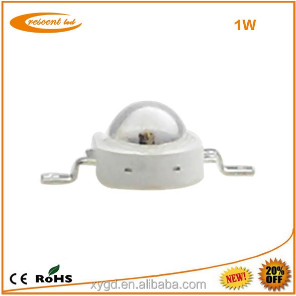 100-150lm/w Bridgelux/epistar White Energy Star Lm-80 1w High Power Led