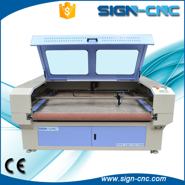 automatic feeding device fabric laser cutting machine and engraving machine
