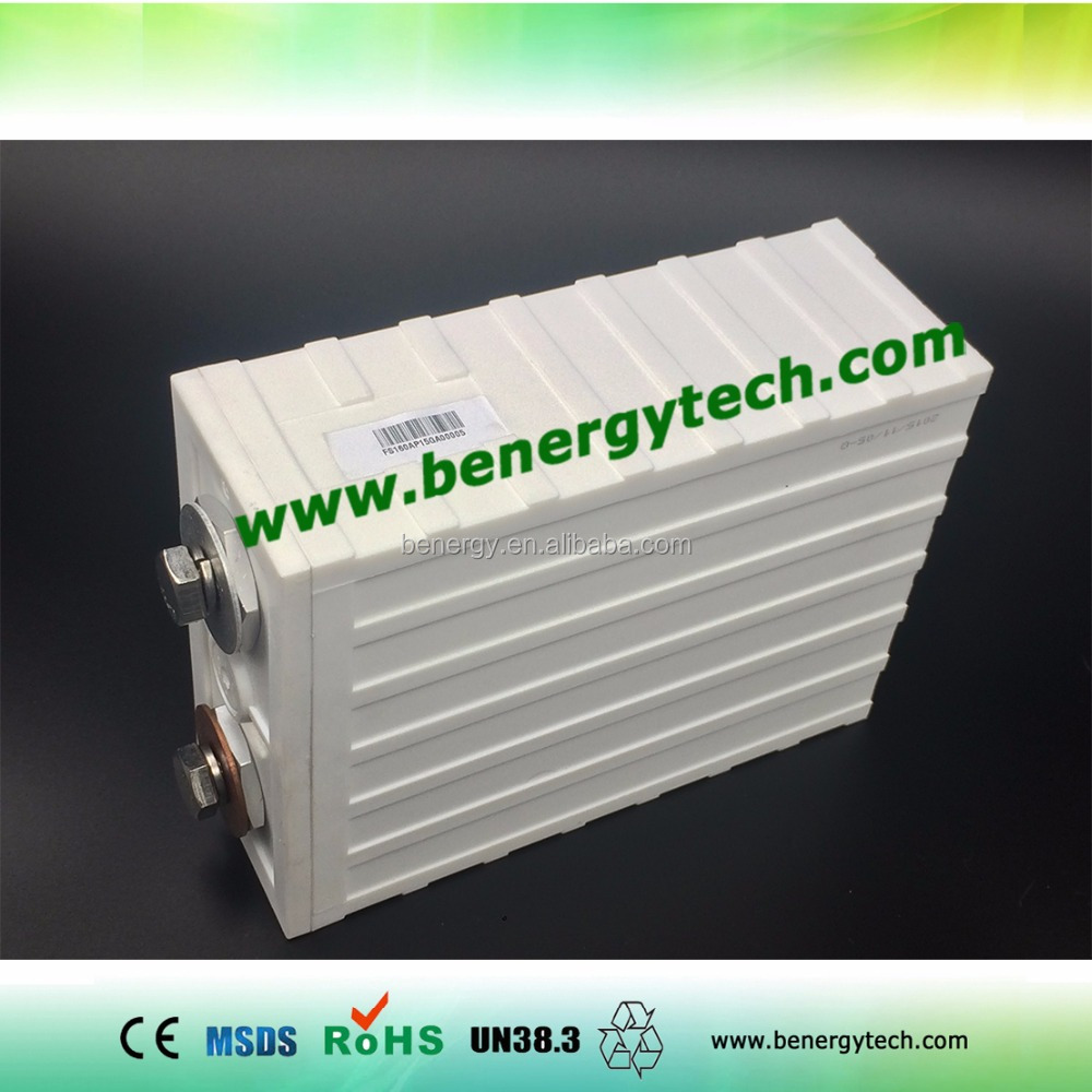 LiFePo4 3.2V 100AH battery, electric vehicle battery, prismatic lifepo4 cell