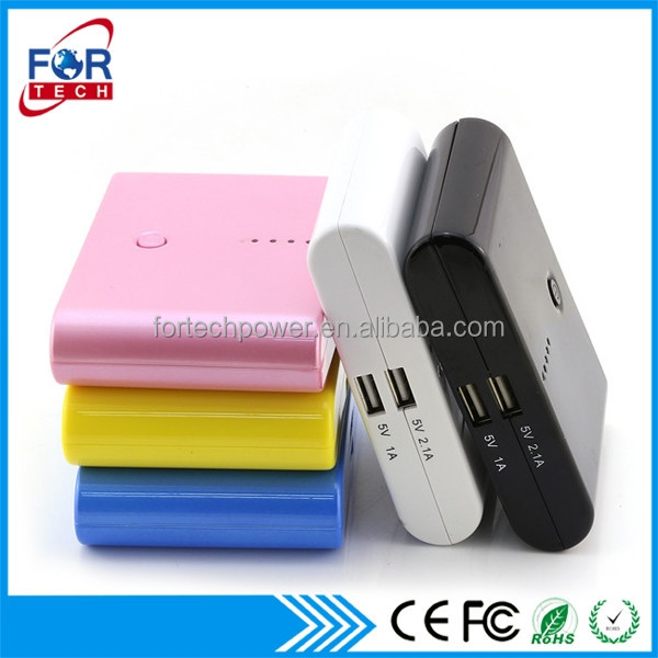 New Products on China Market 18650 Battery Power Bank 5600mAh