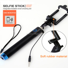 New Foldable mount, Cable Take Pole Selfie Stick Monopod Wired Shutter Remote