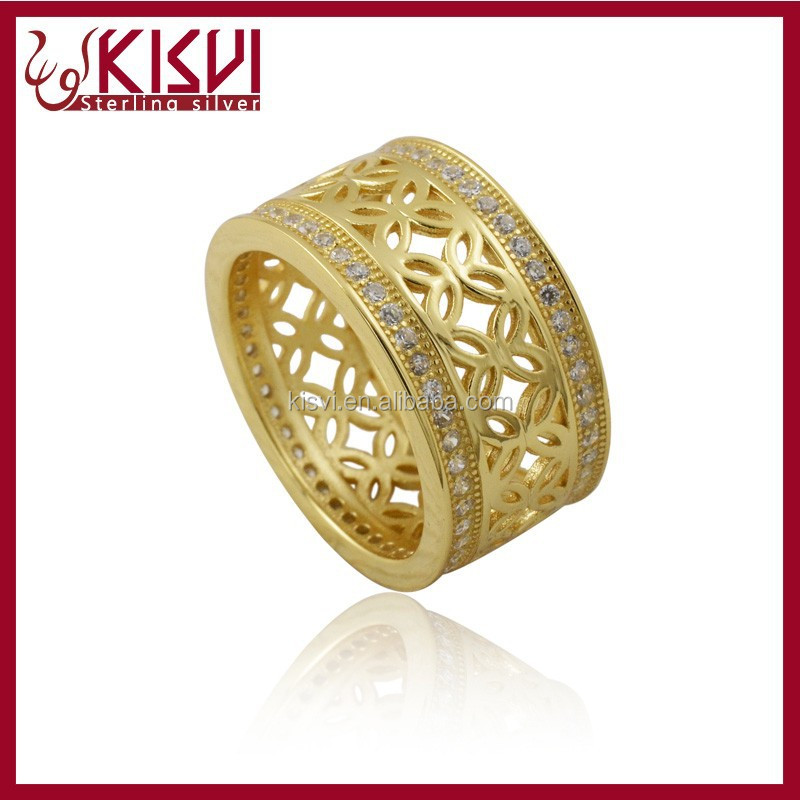 jewelry fashion charm 14k gold wedding ring with great price