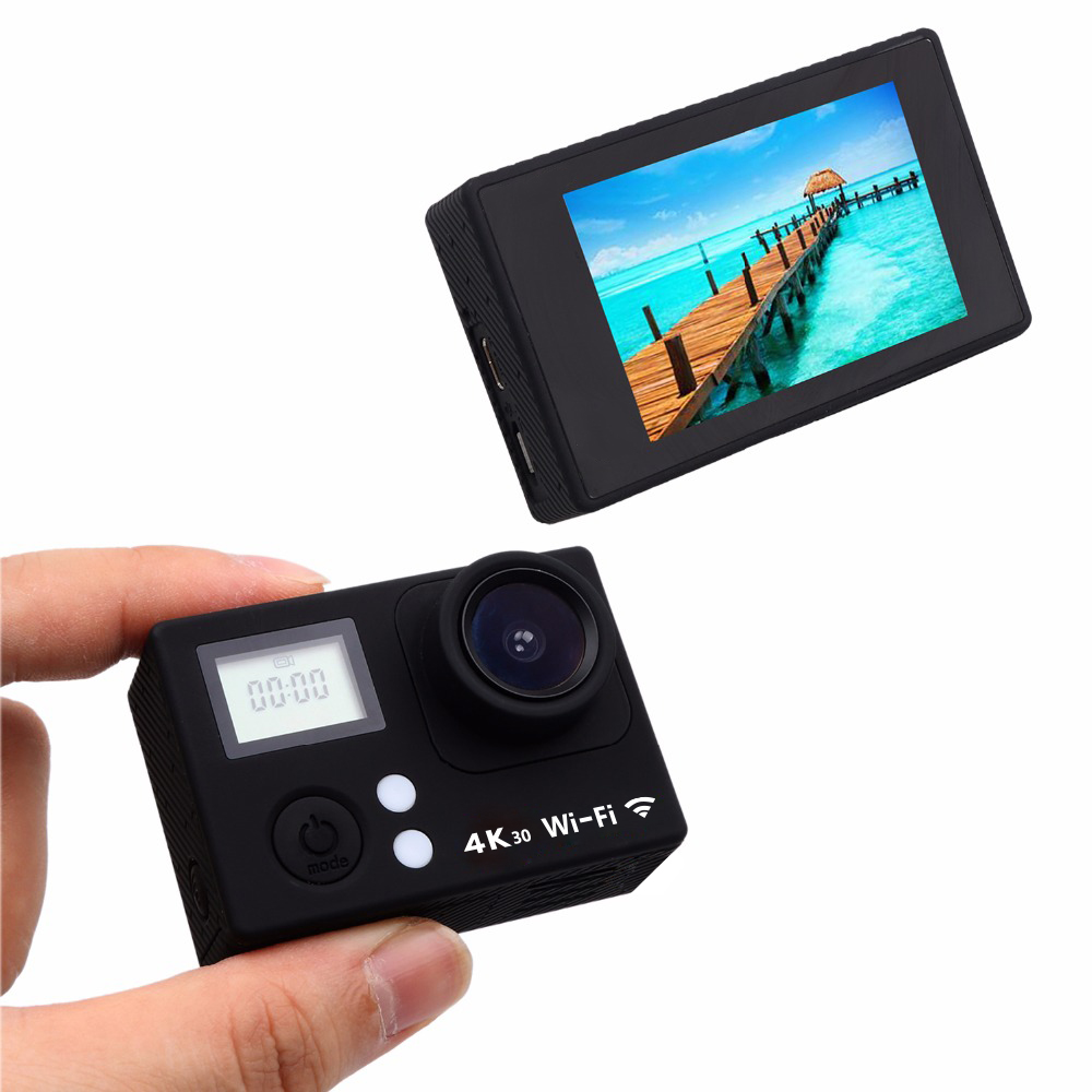 New WiFi 4k@30FPS action camera underwater