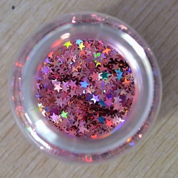 holographic film plastic industry nail glitter