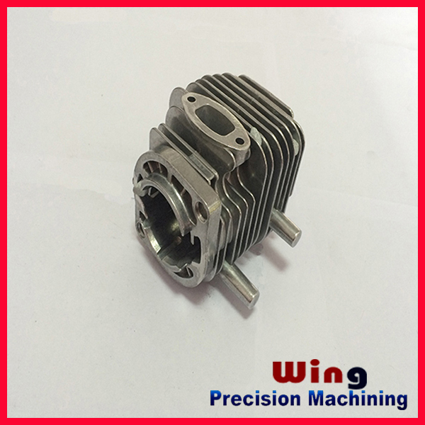 OEM customized die casting spare part for karting