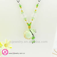 Hot ! 2013 Global New round murano glass lockets pendants bottle perfume necklace ethnic bijouterie wholesale