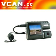 VCAN0433 Dual mobile dvr for vehicles for accident recorder
