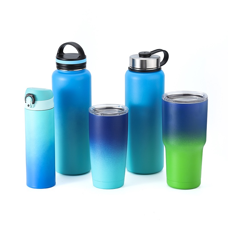 2018 new product most popular insulated vacuum stainless steel sports water bottle