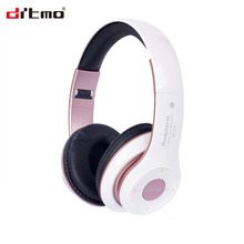 Hot sale over ear foldable bluetooth headphone noise cancelling gaming wired headset