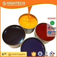 Soybean vegetable offset printing inks