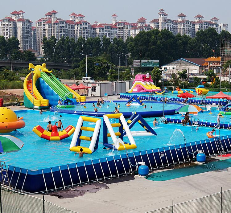 Inflatable Steel Frame pools exercise swim pools or Jacuzzi Ground Pool For Holiday