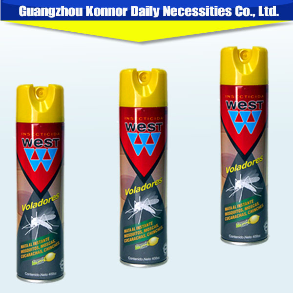wholesale products 400ml oil based household killing mosquito flies aerosol insecticide
