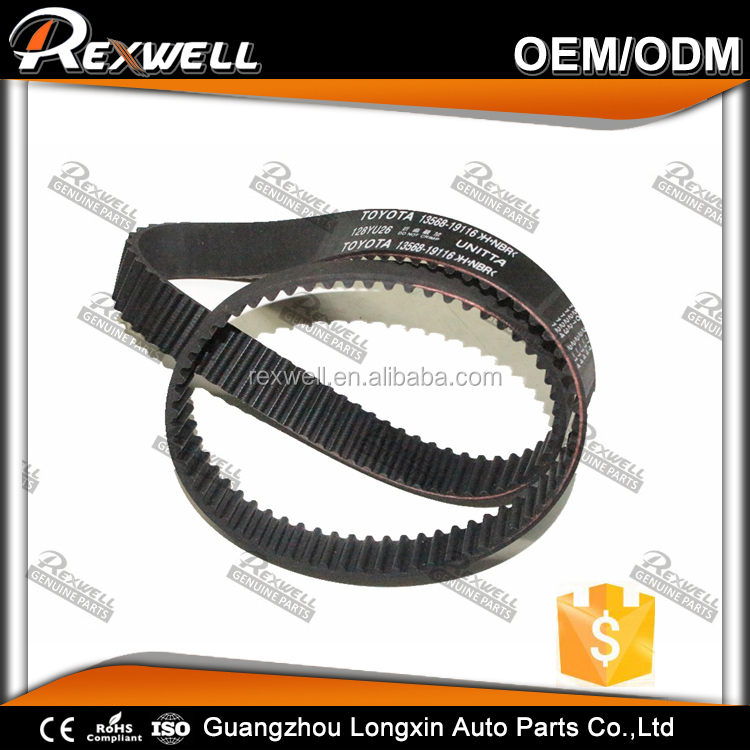For TOYOTA PASEO Coupe Engine parts Timing belt 13568-19116