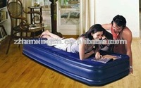 pvc inflatable single air bed