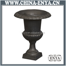 Cast Iron Planter, Classic Flower pot, Garden Urn / Vase