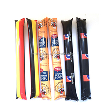 Cheap Promotional Fans Item Noisemaker Cheering Bang Bang Clapper Inflatable Thunder Sticks