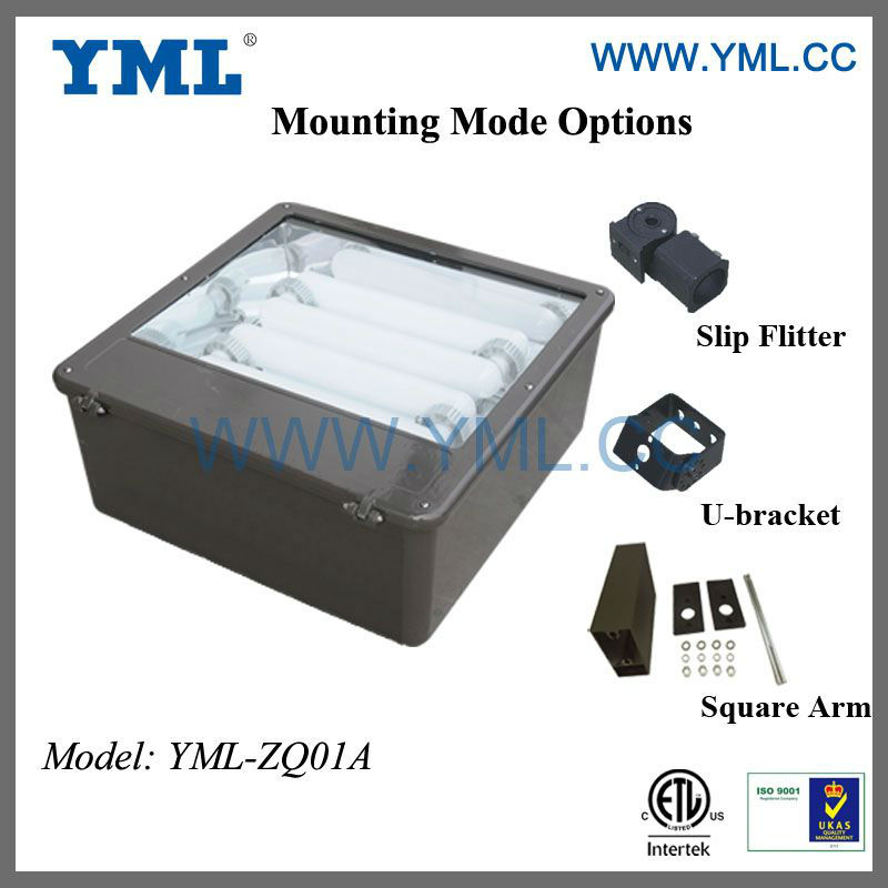 200W Shoebox Lighting magnetic induction lamp