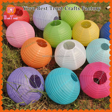 2016 Wholesale cheap Chinese round Paper lanterns For Wedding Decoration