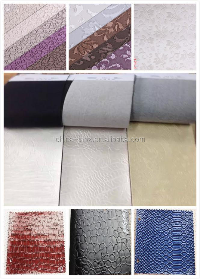 PU synthetic leather material for making men shoes bags wallet jackets
