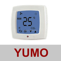 AC208 three colors (golden,silver,white) High-sensitivity Touch Screen Thermostat