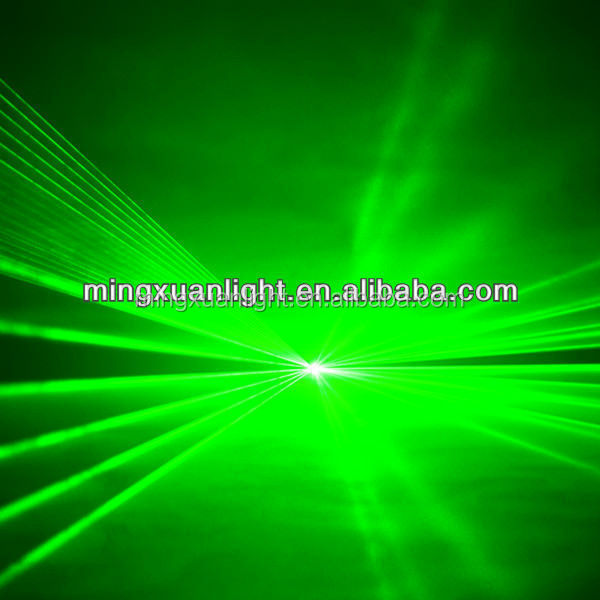 3000mw green laser spot lights with software and ILDA