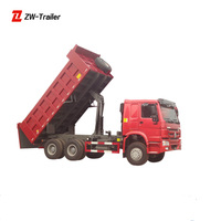 Sale Used Dump Truck 25T 40T To 70T In Shanghai Original Spare Parts Price Howo Dump Truck