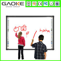 High quality interactive wireless usb finger touch sensitive smart board for office