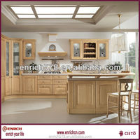 Europe high quality Solid Wood Kitchen Cabinet