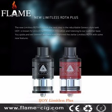 2016 High quality USA design 6.3ml Ijoy limitless rdta plus in stock VS ijoy Limitless RDTA