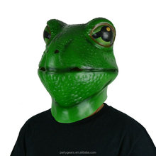 Latex Rubber Animal Frog Face Halloween Party Christmas Horror Scary Mask