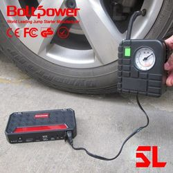 automobile starting power oem and odm car emergency tool jump starter with emergency kit tire pump