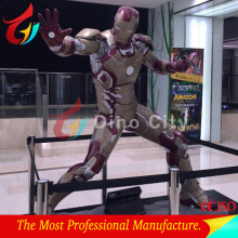 Life Size Fiberglass Iron Man of Movie Statues