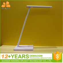 Fashion Adjustable USB Rechargeable LED Desk Table Lamp Light Touch Switch Dimmable