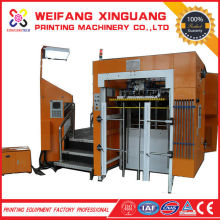 XMQ-1050FH aluminum foil package machine and auto die cutting